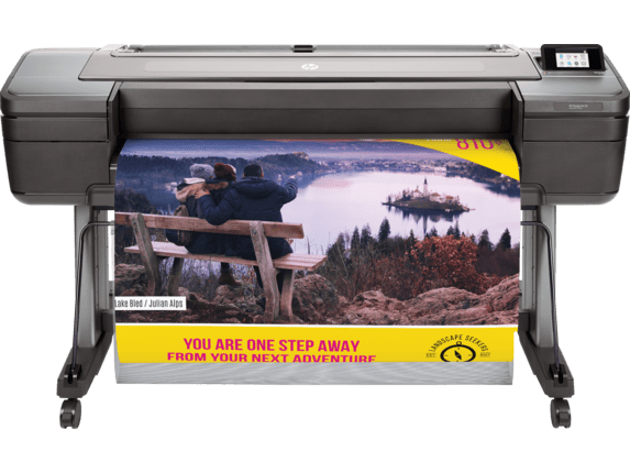 Poster Maker prints vibrant posters! Advertise your next adventure with a poster! HP DesignJet