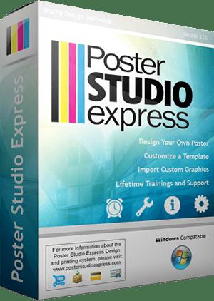 Poster Studio Express School Poster Design Software.