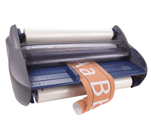 Easily laminate your posters!