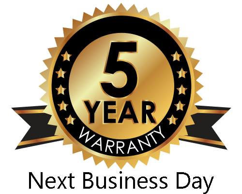 Extend the life of your printer with our 5 year extended warranty! All our warranties include next business day service from an HP technician, and include all parts and labor.